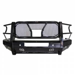 Frontier Gear - Frontier Gear 300-41-9009 Front Bumper with Light Bar Compatible for Dodge Ram 1500 2019-2020 New Body Style
