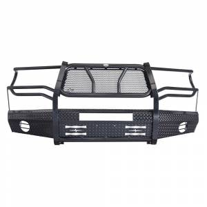 Frontier Gear - Frontier Gear 300-60-7004 Front Bumper with Light Bar Compatible for Toyota Tundra 2007-2013