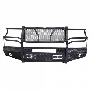 Frontier Gear - Frontier Gear 300-61-4004 Front Bumper with Light Bar Compatible for Toyota Tundra 2014-2019