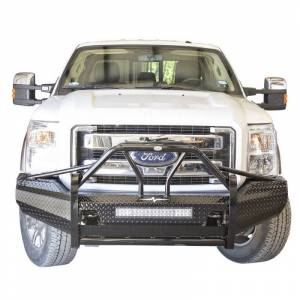 Frontier Gear - Frontier Gear 600-11-1006 Xtreme Front Bumper with Light Bar Compatible for Ford F250/F350/F450 2011-2016