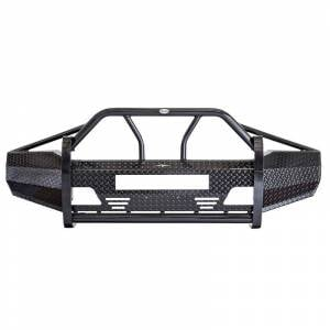 Frontier Gear - Frontier Gear 600-19-9006 Xtreme Front Bumper with Light Bar Compatible for Ford F250/F350/Excursion 1999-2004