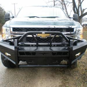 Frontier Gear Xtreme Front Bumper Replacements - Chevy - Frontier Gear - Frontier Gear 600-21-1005 Xtreme Front Bumper for Chevy Silverado 2500HD/3500 2011-2014