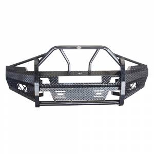 Frontier Gear - Frontier Gear 600-21-1006 Xtreme Front Bumper with Light Bar Compatible for Chevy Silverado 2500 HD/3500 HD 2011-2014