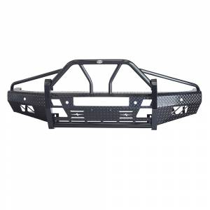 Frontier Gear 600-21-4010 Xtreme Front Bumper with Light Bar Compatible for Chevy Silverado 1500 2014-2015