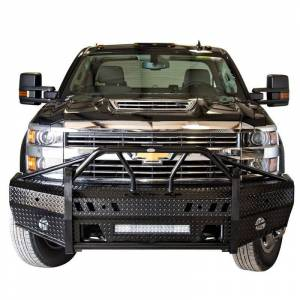 Frontier Gear - Frontier Gear 600-21-5006 Xtreme Front Bumper with Light Bar Compatible for Chevy Silverado 2500HD/3500 2015-2019