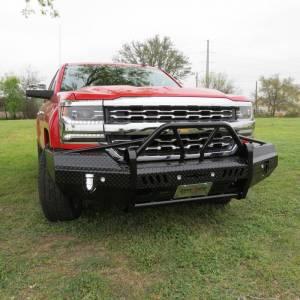 Frontier Gear - Frontier Gear 600-21-6009 Xtreme Front Bumper for Chevy Silverado 1500 2016-2018