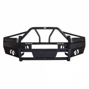Frontier Gear 600-30-7010 Xtreme Front Bumper with Light Bar Compatible for GMC Sierra 1500 2007-2013