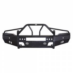 Frontier Gear - Frontier Gear 600-31-4010 Xtreme Front Bumper with Light Bar Compatible for GMC Sierra 1500 2014-2015