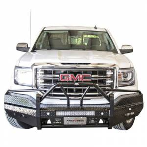Frontier Gear - Frontier Gear 600-31-6010 Xtreme Front Bumper with Light Bar Compatible for GMC Sierra 1500 2016-2018