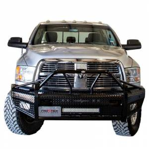 Frontier Gear Xtreme Front Bumper Replacements - Dodge - Frontier Gear - Frontier Gear 600-41-0006 Xtreme Front Bumper with Light Bar Compatible for Dodge Ram 2500/3500 2010 and Ram 2500/3500 2011-2018
