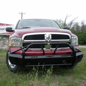 Frontier Gear - Frontier Gear 600-41-3004 Xtreme Front Bumper for Dodge Ram 1500 2013-2018
