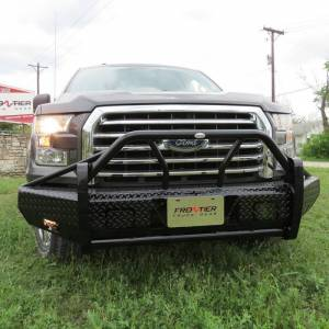 Frontier Gear Xtreme Front Bumper Replacements - Ford - Frontier Gear - Frontier Gear 600-51-5005 Xtreme Front Bumper for Ford F150 2015-2017