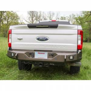 Backwoods BWFH25-201ZZPPN Brute Rear Bumper with Sensor Holes for Ford F250/F350 2017-2018