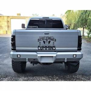 Fusion Bumpers - Fusion 0308RM1500RB Rear Bumper for Dodge Ram 1500 2003-2008