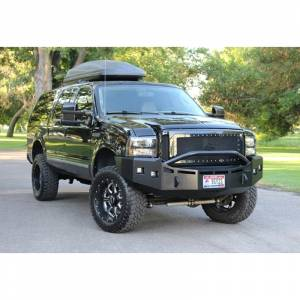 Shop Bumpers By Vehicle - Ford Expedition - Fusion Bumpers - Fusion 0507FORDEXCRB Rear Bumper for Ford Excursion 2005-2007