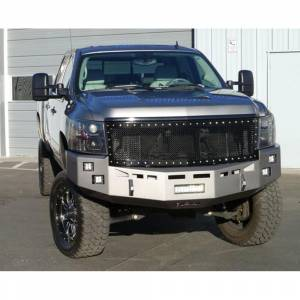 Fusion Bumpers - Fusion 0710GMCFB Front Bumper for GMC Sierra 2500/3500 2007-2010