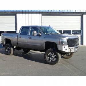 Fusion Bumpers - Fusion 0710GMCFB Front Bumper for GMC Sierra 2500/3500 2007-2010 - Image 3