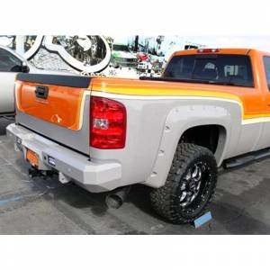 Fusion Bumpers - Fusion 0710GMCRB Rear Bumper for GMC Sierra 2500/3500 2007-2010 - Image 2