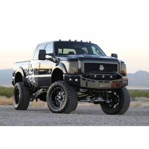 Shop Bumpers By Vehicle - Ford F450/F550 Super Duty - Fusion Bumpers - Fusion 1116450FB Front Bumper for Ford F450/F550 2011-2016