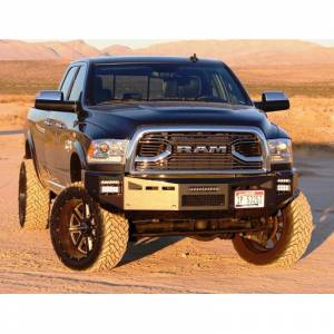 Fusion 1318RAMFB Front Bumper for Dodge Ram 2500/3500 2013-2018