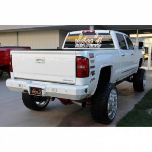 Fusion Bumpers - Fusion 1519GMCRB Rear Bumper for GMC Sierra 2500 HD/3500 2015-2019 - Image 2