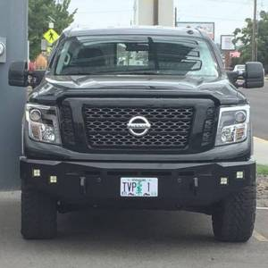 Truck Bumpers - Fusion - Fusion Bumpers - Fusion 1620TITFB Front Bumper for Nissan Titan XD 2016-2020