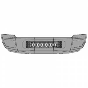 Flog Industries - Flog Industries FISD-C2535-1114F Front Bumper for Chevy Silverado 2500/3500 2011-2014