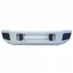 Flog Industries - Flog Industries FISD-G2535-1114F-S Front Bumper with Sensor Holes for GMC Sierra 2500/3500 2011-2014