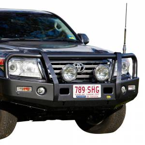 Truck Bumpers - TJM - TJM - TJM 070SB13R82A Outback T13 Front Bumper with Grille Guard for Toyota Land Cruiser 2008-2015