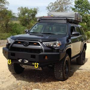 Shop Bumpers By Vehicle - Toyota 4Runner - TJM - TJM 074ST17A86ZDS Rock Crawler Series Front Bumper for Toyota 4Runner 2014-2020