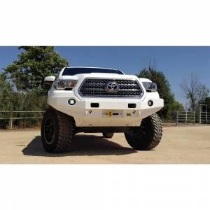 Truck Bumpers - TJM - TJM - TJM 074ST17A89BDS Rock Crawler Series Front Bumper for Toyota Tacoma 2016-2021