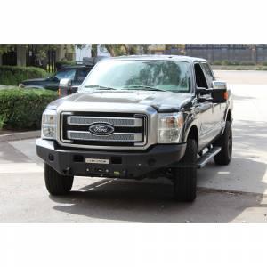 Truck Bumpers - TJM - TJM - TJM 074ST17N22GDS Equipped Series Front Bumper for Ford F250/F350 2011-2016