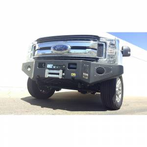 Truck Bumpers - TJM - TJM - TJM 074ST17N22HDS Equipped Series Front Bumper for Ford F250/F350 2017-2020