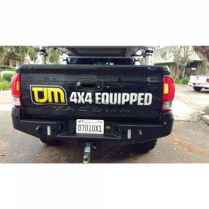 Truck Bumpers - TJM - TJM - TJM 081ST37A89B Rear Bumper for Toyota Tacoma 2016-2021