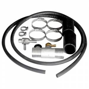 Exterior Accessories - Fuel Tanks and Pumps - Aluminum Tank Industries - ATI AIK15FD Auxiliary Install Kit for Ford/Dodge/GMC