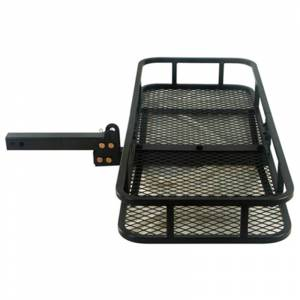 B-Dawg Hitch Carriers | Motorcycle Carriers - Cargo Carrier - B-Dawg - B-Dawg BD48205F Folding Herbee Cargo Carrier
