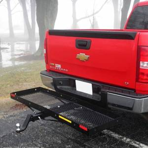 B-Dawg Hitch Carriers | Motorcycle Carriers - Cargo Carrier - B-Dawg - B-Dawg BD60203-TO Towing Dreadnaught Cargo Carrier