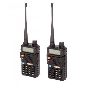 Interior Accessories - Radios - Daystar - Daystar KU73010BK GMRS Hand Held Radio 3 Mile Range Daystar