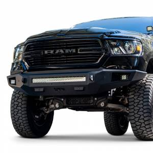 Truck Bumpers - Body Armor - Body Armor - Body Armor DG-19343 Ambush Non-Winch Front Bumper for Dodge Ram 1500 2019-2020