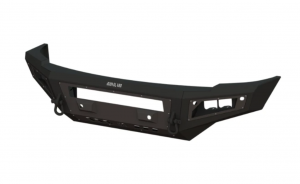 Clearance Bumpers - Bodyguard - Bodyguard GAF05BN2B A2L Base Front Bumper No Sensor Holes Double Light Bar cutout Textured Black Ford F250/350 2005-2007 *BARE STEEL* In-stock Return