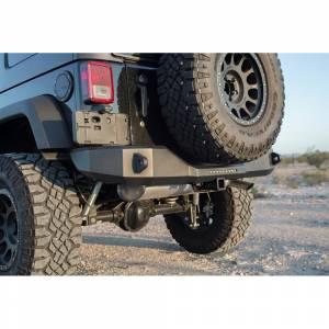 Jeep Bumpers - Raptor Magnum Bumpers - Raptor - Raptor RBM13JPN Magnum RT Rear Bumper for Jeep Wrangler JK 2007-2018