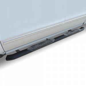 Raptor - Raptor 1502-0391B OE Style Cab Length Nerf Bars for Dodge Ram 1500 Quad/Extended 2002-2008 - Black E-Coated - Image 2