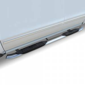 Raptor - Raptor 1507-0442 OE Style Cab Length Nerf Bars for Nissan Frontier Crew Cab 2005-2021 - Polished Stainless Steel - Image 2