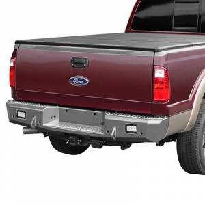 Truck Bumpers - Trail Ready - TrailReady - TrailReady 18561 Rear Bumper with D-Ring Tabs for Ford F250/F350/F450 1999-2016