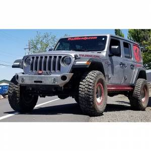 Truck Bumpers - Trail Ready - TrailReady - TrailReady 38500B Winch Front Bumper for Jeep Wrangler JL 2018-2020