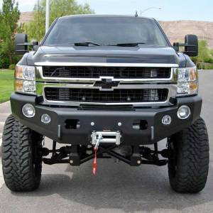 Truck Bumpers - Trail Ready - TrailReady - TrailReady 10655B Winch Front Bumper for Chevy Suburban 2015-2020