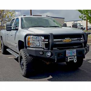 Truck Bumpers - Trail Ready - TrailReady - TrailReady 10655G Winch Front Bumper with Full Guard for Chevy Tahoe 2015-2020