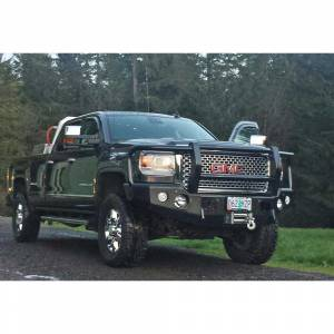 Truck Bumpers - Trail Ready - TrailReady - TrailReady 10880G Winch Front Bumper with Full Guard for GMC Sierra 1500 2014-2015