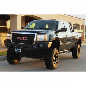 Truck Bumpers - Trail Ready - TrailReady - TrailReady 10890B Winch Front Bumper for GMC Sierra 2500 HD/3500 HD 2020-2020