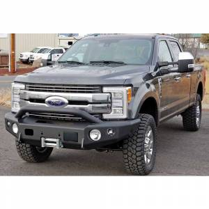 Truck Bumpers - Trail Ready - TrailReady - TrailReady 12250P Winch Front Bumper with Pre-Runner Guard for Ford Raptor 2010-2014